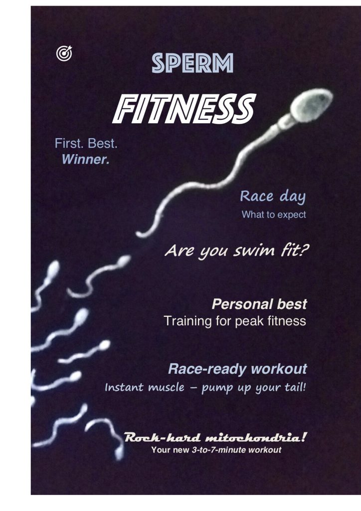 Work by Liz Hibbs – Sperm Fitness